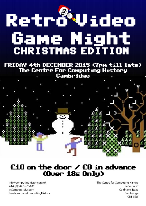 Retro Video Game Night (Christmas Edition)
